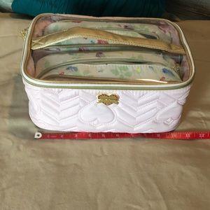 Betsy Johnson Cosmetic Bag